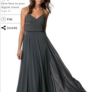 Jenny Yoo Ines dress color storm